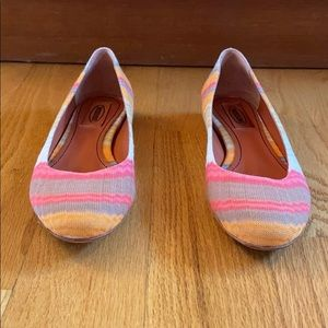 Missoni multi-color flats made in Italy * Size 7